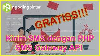 Cara membuat Aplikasi Kirim SMS dengan PHP | SMS Gateway API by. sms.indositus.com [FREE.!!!]