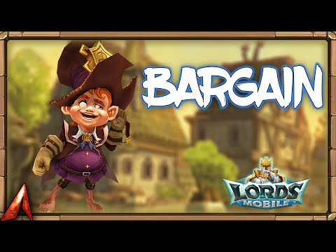 Going Buying In The New Bargain Store! Lords Mobile