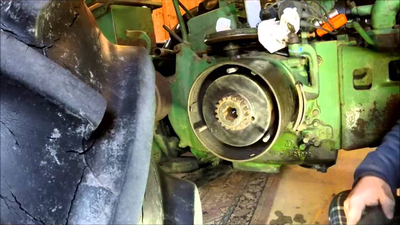 Repairing A Broken Clutch Driver John Deere A B And G Tractors Youtube