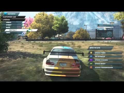 chevrolet camaro расположение в most wanted 2012