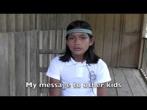 The dreams of Achuar children of the Amazon Rain forest of Ecuador.