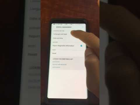 How to add signature or text message shortcut on the Samsung Note 8