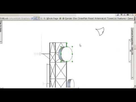 Drawing lines with arrows in visio : Ms visio automated drawing of microwave towers youtube