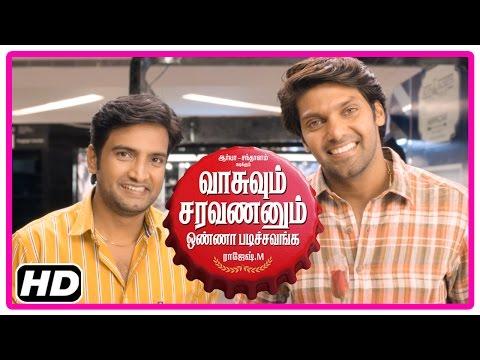 VSOP Tamil Movie | Scenes | Arya proposes to Vidyullekha | Vidyullekha threatens Arya and Santhanam