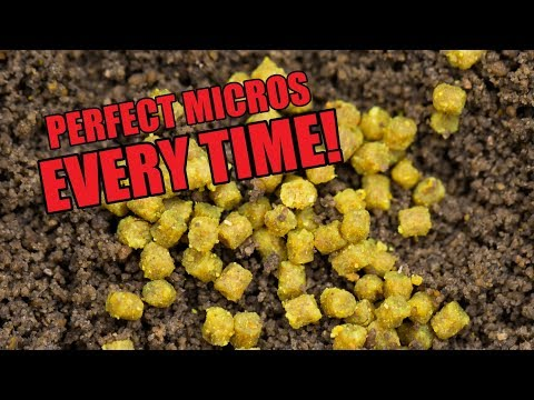 SOAKING MICRO PELLETS - ROB WOOTTON SHOWS HOW TO PREPARE PELLETS FOR METHOD FEEDER FISHING