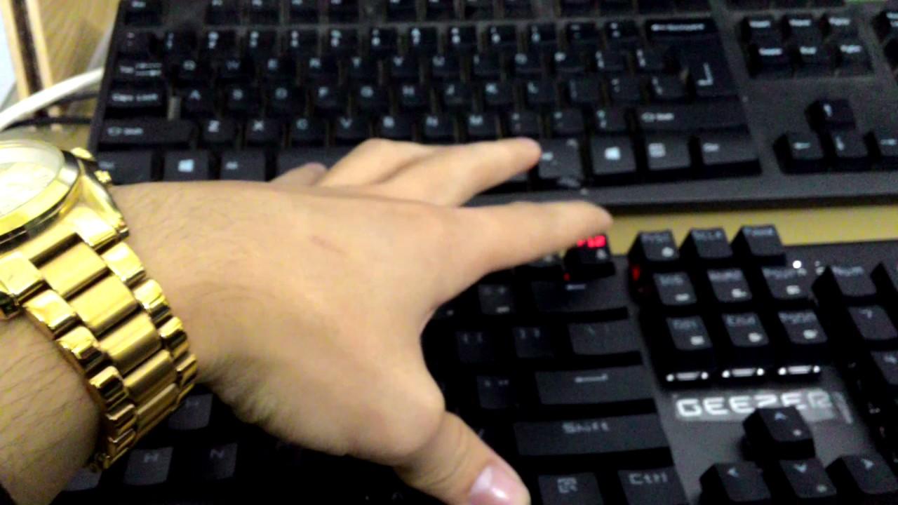 Bàn phím cơ | Phím cơ Geezer Gs2 – thử tiếng Blue Switch