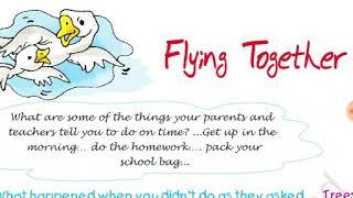Class5th English Unit 2 Flying together full explanation हिंदी में