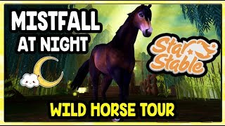 Star Stable - Mistfall at Night - Wild Horse Edition - HD !