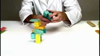 Magnetic Wooden Toys From Tegu - Building Donald Duck
