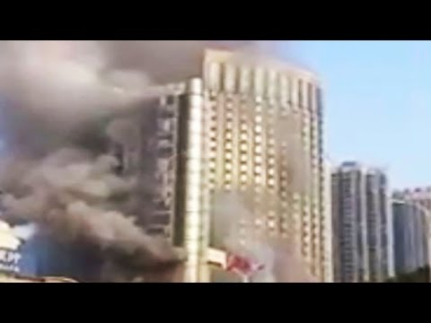 Huge Fire at luxury hotel kills at least 10 in China