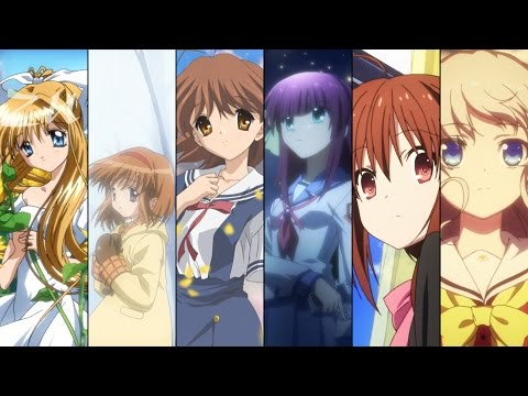 All Key Anime Openings with Lyrics