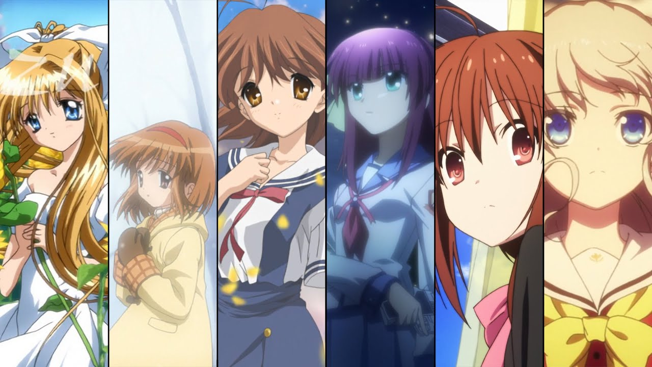 All Key Anime Openings with Lyrics - YouTube