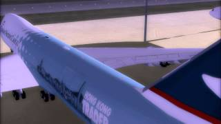 FS2004 |The Hong Kong Trader -Home|747-8F|Trailer