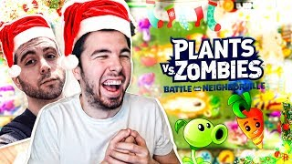 NAVIDAD en PLANTAS VS ZOMBIES: Battle for Neighborville | PVE Modo Zombie