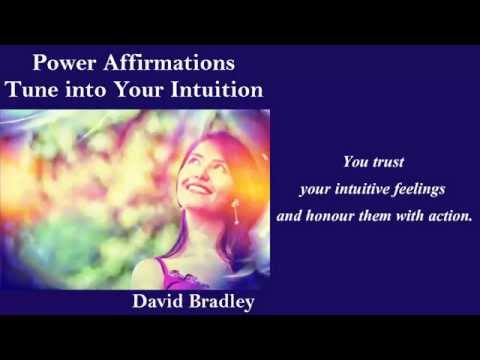 Power Affirmations Tune into Your Intuition