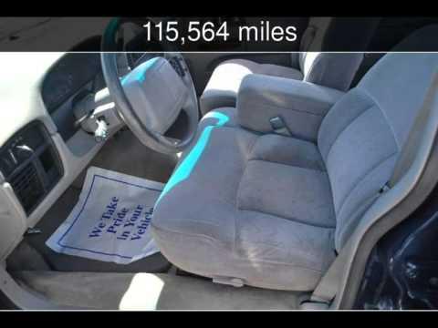 1996 Chevrolet Caprice Classic 1sc Special Value Pkg Used