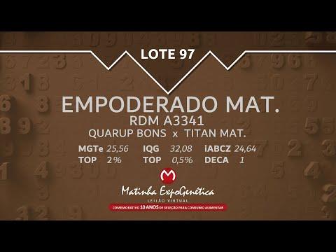 LOTE 97 MATINHA EXPOGENÉTICA 2021