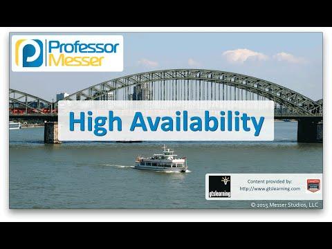 Descargar Video High Availability - CompTIA Network+ N10-006 - 1.9