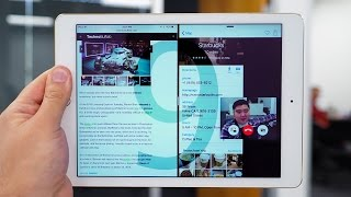 iOS 9 on iPad: Slide Over, Split View, and more