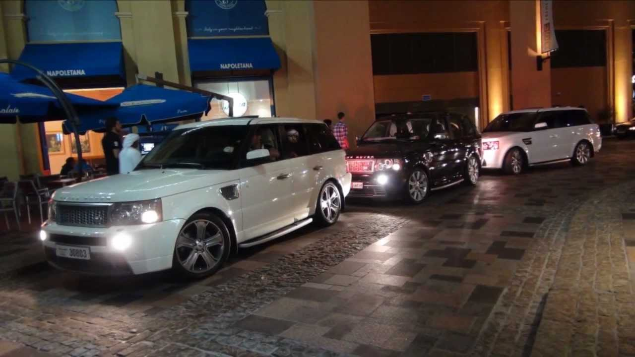 Range Rover Gang In Dubai UAE Full HD YouTube