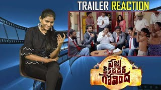 Vajra Kavachadhara Govinda Theatrical Trailer Reaction Saptagiri Arun Pawar Bulganin