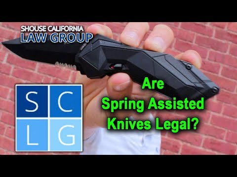 "Are ""spring assisted knives"" legal in California?"