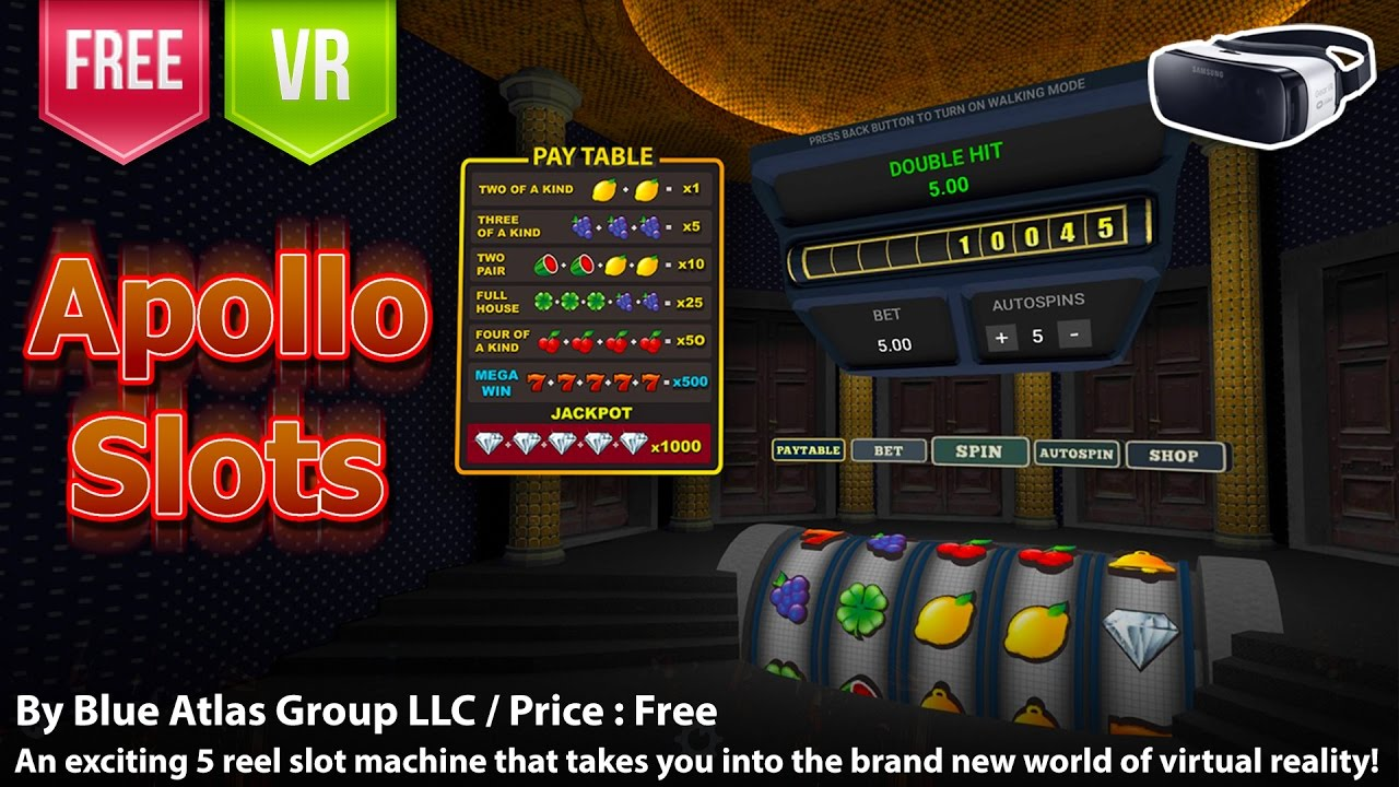 Apollo Slots Gear Vr An Exciting 5 Reel Slot Machine That Takes