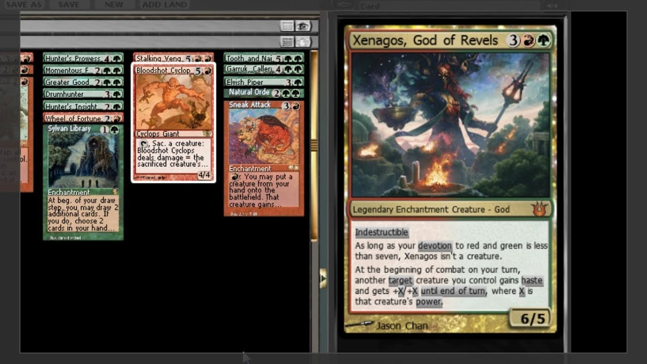 Xenagos, God Of Revels MTG EDH Command...