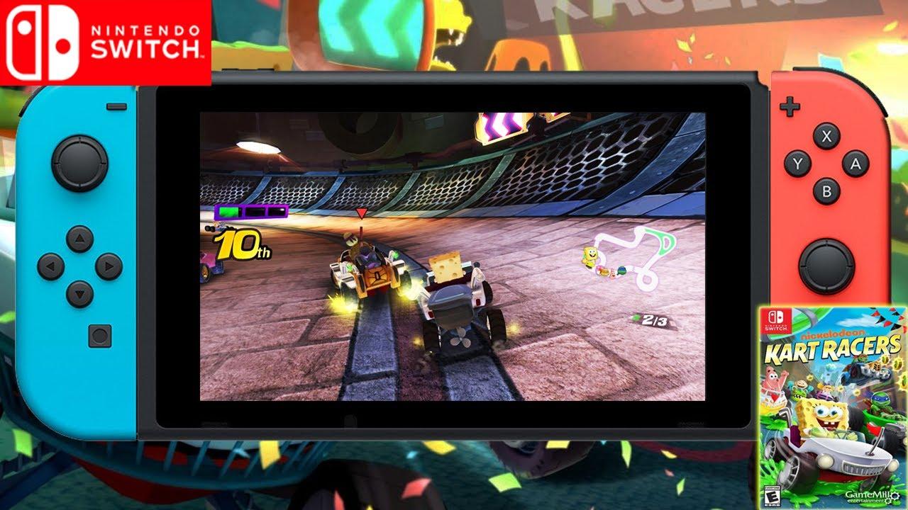 Nickelodeon Kart Racers   Announced   Upcoming Nintendo Switch