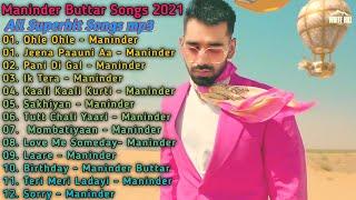 Maninder Buttar New Punjabi Songs   New Punjabi Jukebox 2021   Best Manindar Punjabi Songs  New Song
