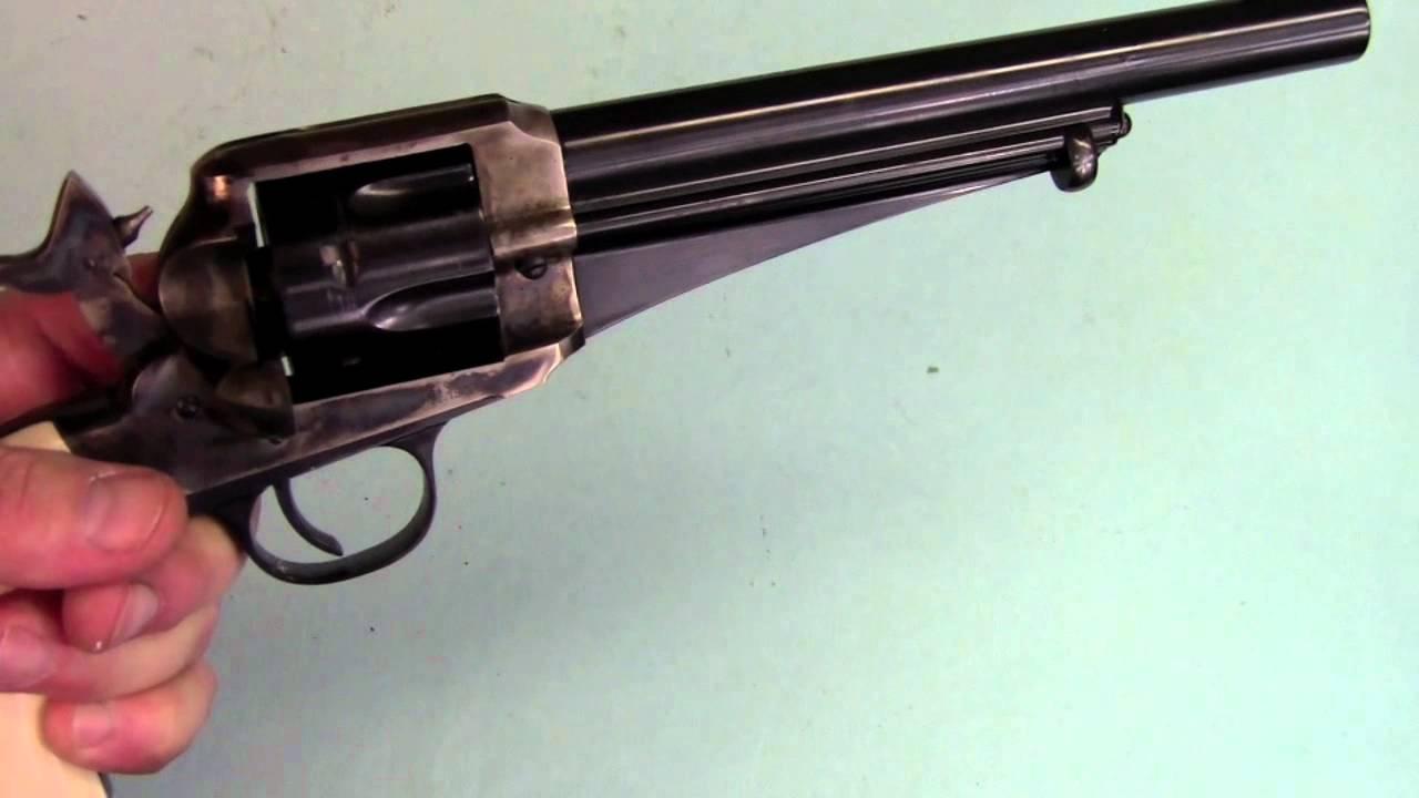 Shooting the 1875 Remington Revolver mov