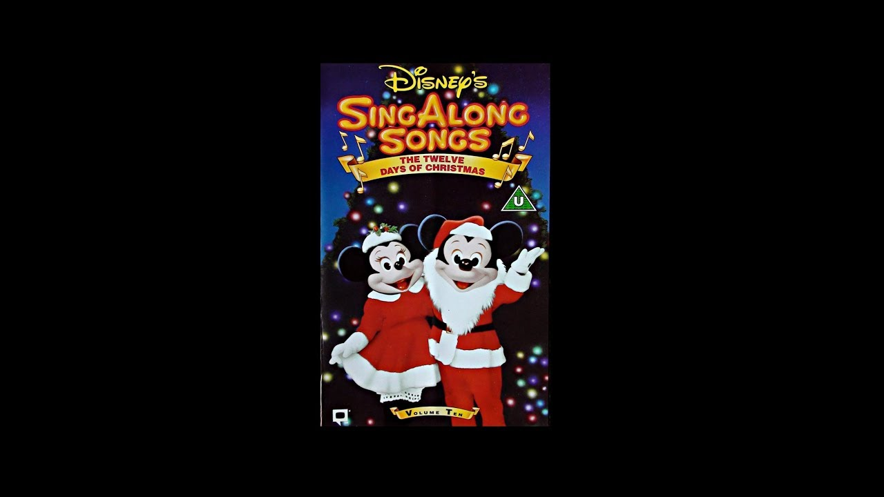 Disneys Sing Along Songs - 12 Days of Christmas