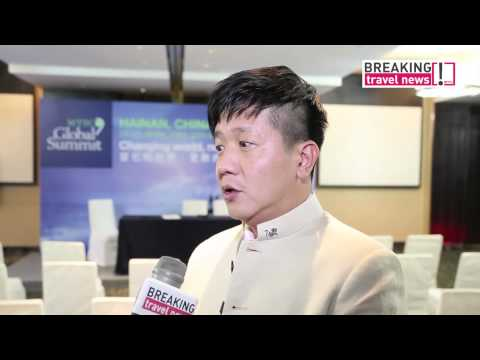 WTTC 2014 Hainan, China - Interview with Las Vegas Conventions & Visitors Authority