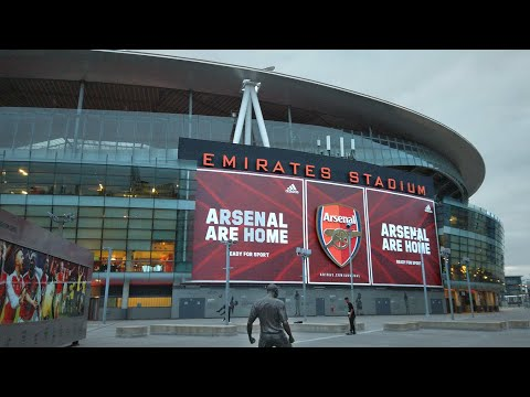 London Walk Outside Arsenal Football Club's EMIRATES STADIUM in Highbury