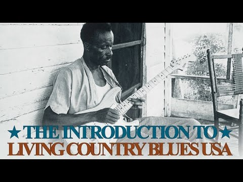 Introduction To Living Country Blues USA  Various Artists