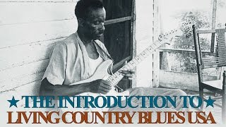 Introduction To Living Country Blues USA - Various Artists