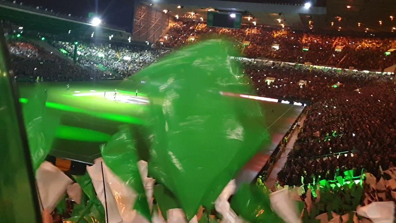 Celtic Fans Pre-Match Atmosphere | Celtic vs Bayer Leverkusen