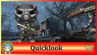 Fallout 4 - X01 Power Armor Funko Pop ★ Quicklook #18 ★