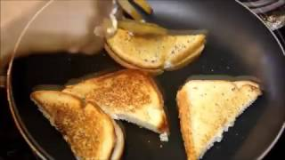 Curd   Yogurt Sandwich   Dahi Sandwich   Easy Healthy Indian Breakfast and Evening Snacks Recipes
