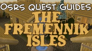 Old School Runescape Quest Guides: The Fremennik Isles