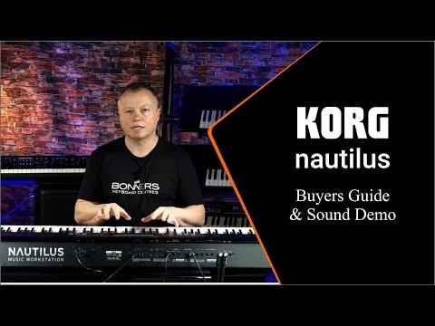 Korg Nautilus Features Guide & Sound Demos | Bonners Music