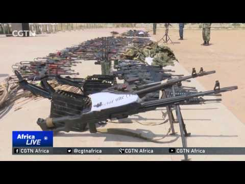 Juba calm for first time in years due to seizing of illegal firearms