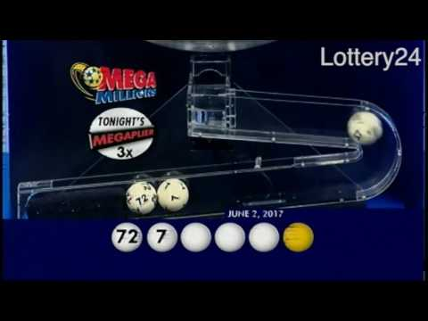 2017 06 02 Mega Millions Numbers and draw results
