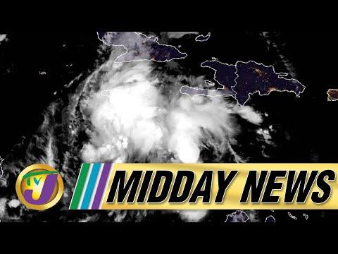 Flash Flood Warning for Jamaica   Hospitals Buckling Under Covid Pressure - August 26 2021