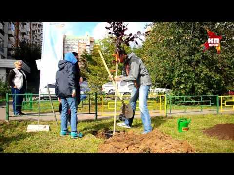 «Комсомольская правда» провела акцию «Сделаем Москву парком!»