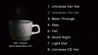 Download [Full Album] EXO - Universe Winter Special Album, 2017 Mp3