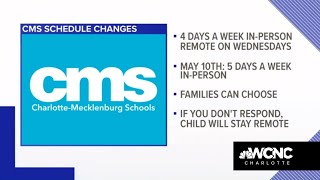 CMS Middle, High School Schedule Changing