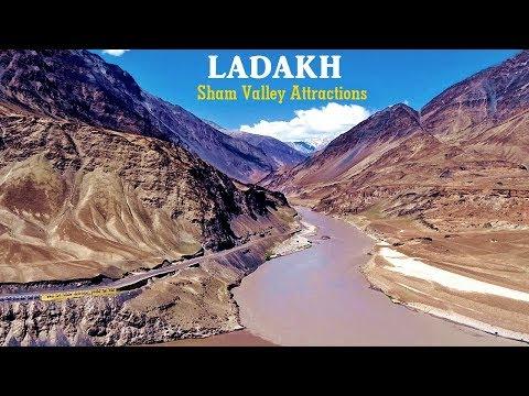 Ladakh - Magnetic Hill | Indus-Zanskar Confluence | Alchi | Likir