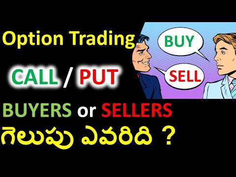 Options Buying vs Selling – గెలుపు ఎవరిది ? | options trading for beginners in telugu