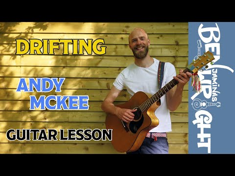 drifting (part 1) - andy mckee - guitar lesson (sl10)